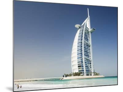 Burj Al Arab Hotel, Dubai, United Arab Emirates, Middle East-Amanda Hall-Mounted Photographic Print