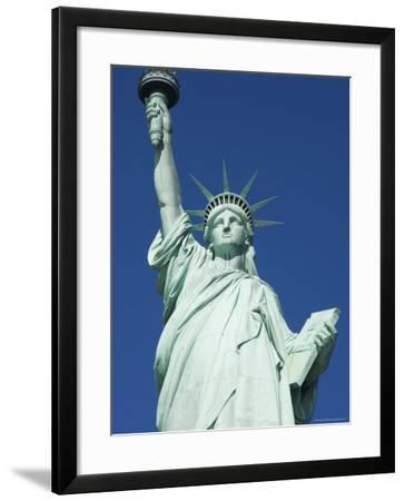 Statue of Liberty, Liberty Island, New York City, New York, United States of America, North America-Amanda Hall-Framed Photographic Print