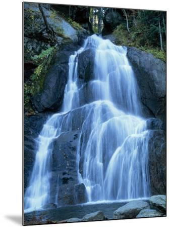 Moss Glen Falls in the Green Mountain National Forest, Vermont, New England, USA-Amanda Hall-Mounted Photographic Print