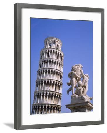 The Leaning Tower of Pisa, Pisa, Tuscany, Italy-Roy Rainford-Framed Photographic Print