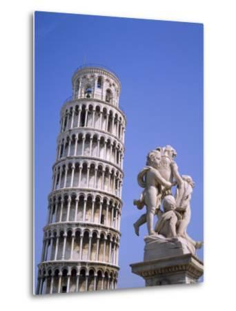 The Leaning Tower of Pisa, Pisa, Tuscany, Italy-Roy Rainford-Metal Print