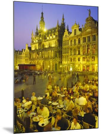 Grand Place, Brussels, Belgium-Roy Rainford-Mounted Photographic Print