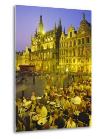 Grand Place, Brussels, Belgium-Roy Rainford-Metal Print