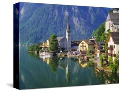 Hallstatt, Salzkammergut, Austria-Roy Rainford-Stretched Canvas Print