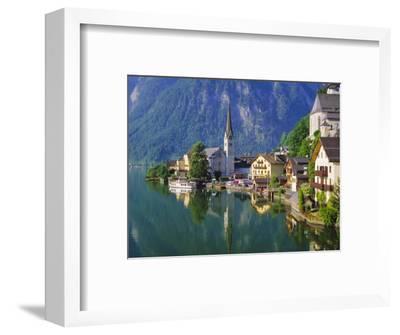 Hallstatt, Salzkammergut, Austria-Roy Rainford-Framed Photographic Print