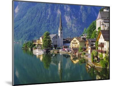 Hallstatt, Salzkammergut, Austria-Roy Rainford-Mounted Photographic Print