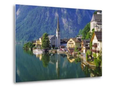 Hallstatt, Salzkammergut, Austria-Roy Rainford-Metal Print