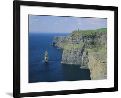 The Cliffs of Moher, County Clare, Munster, Republic of Ireland (Eire), Europe-Roy Rainford-Framed Photographic Print