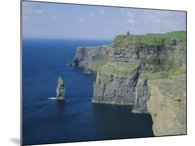 The Cliffs of Moher, County Clare, Munster, Republic of Ireland (Eire), Europe-Roy Rainford-Mounted Photographic Print