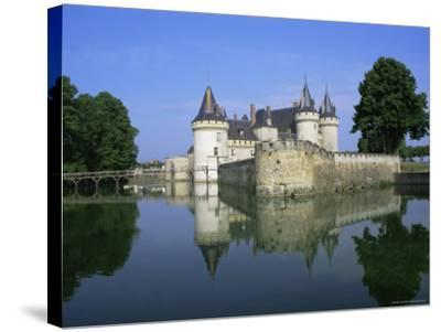 Sully-Sur-Loire Chateau, Loire Valley, Unesco World Heritage Site, France, Europe-Roy Rainford-Stretched Canvas Print