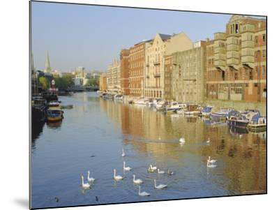 Redcliffe Wharf, Bristol Harbour, Bristol, England, UK-Rob Cousins-Mounted Photographic Print
