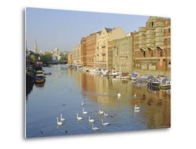 Redcliffe Wharf, Bristol Harbour, Bristol, England, UK-Rob Cousins-Metal Print
