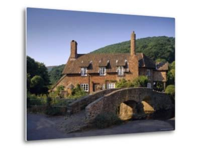 Packhorse Bridge, Allerford, Exmoor National Park, Somerset, England, UK, Europe-John Miller-Metal Print