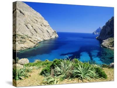 Bay Near Puerto Pollensa, Mallorca (Majorca), Balearic Islands, Spain, Europe-John Miller-Stretched Canvas Print