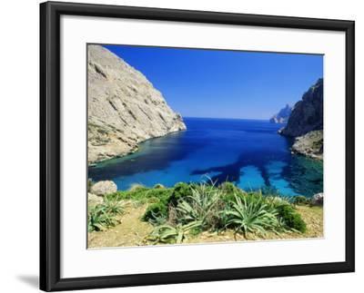 Bay Near Puerto Pollensa, Mallorca (Majorca), Balearic Islands, Spain, Europe-John Miller-Framed Photographic Print