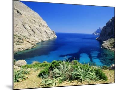 Bay Near Puerto Pollensa, Mallorca (Majorca), Balearic Islands, Spain, Europe-John Miller-Mounted Photographic Print