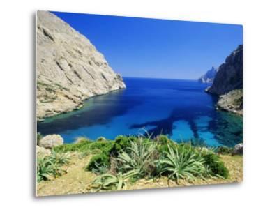 Bay Near Puerto Pollensa, Mallorca (Majorca), Balearic Islands, Spain, Europe-John Miller-Metal Print