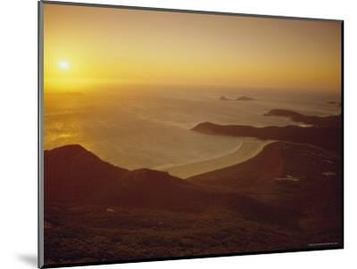Wilson's Promontory, Sunset from Mount Oberon, Victoria, Australia-Dominic Webster-Mounted Photographic Print