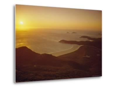 Wilson's Promontory, Sunset from Mount Oberon, Victoria, Australia-Dominic Webster-Metal Print