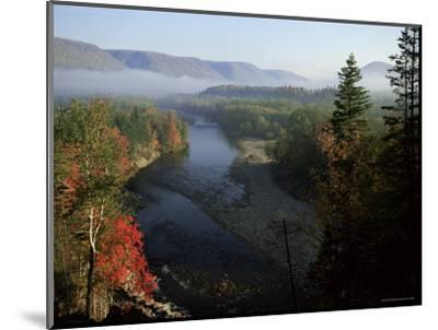 River in Margaree Valley, Cape Breton, Canada, North America-Alison Wright-Mounted Photographic Print