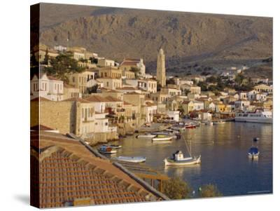 Emborio, Khalki (Chalki), Near Rhodes, Dodecanese Islands, Greece, Europe-Robert Harding-Stretched Canvas Print