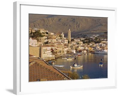 Emborio, Khalki (Chalki), Near Rhodes, Dodecanese Islands, Greece, Europe-Robert Harding-Framed Photographic Print