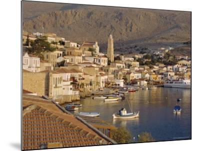 Emborio, Khalki (Chalki), Near Rhodes, Dodecanese Islands, Greece, Europe-Robert Harding-Mounted Photographic Print