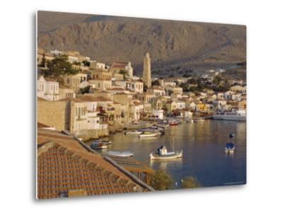 Emborio, Khalki (Chalki), Near Rhodes, Dodecanese Islands, Greece, Europe-Robert Harding-Metal Print