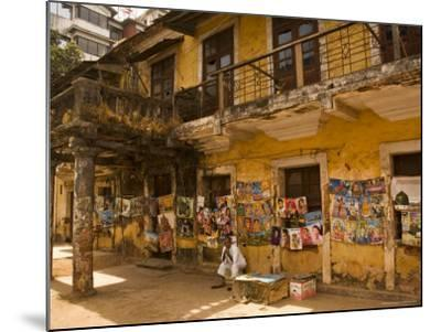 Decaying House in Panaji Formerly Known as Panjim, Goa, India-Robert Harding-Mounted Photographic Print