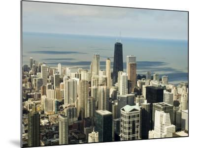 View of Chicago from the Sears Tower Sky Deck, Chicago, Illinois, USA-Robert Harding-Mounted Photographic Print
