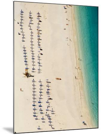 Myrtos Beach, the Best Beach for Sand Near Assos, Kefalonia (Cephalonia), Greece, Europe-Robert Harding-Mounted Photographic Print