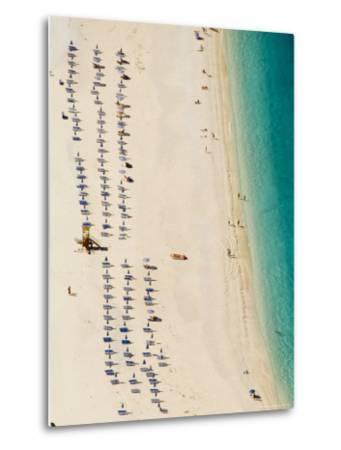 Myrtos Beach, the Best Beach for Sand Near Assos, Kefalonia (Cephalonia), Greece, Europe-Robert Harding-Metal Print