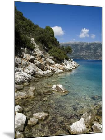 Near Fiskardo on the East Coast of Kefalonia (Cephalonia), Ionian Islands, Greece, Europe-Robert Harding-Mounted Photographic Print