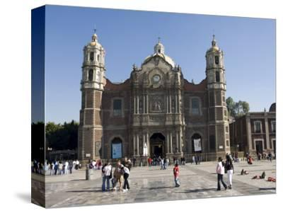 The Antigua Basilica Adjacent to the Basilica De Guadalupe, Mexico City, Mexico, North America-Robert Harding-Stretched Canvas Print