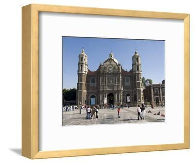 The Antigua Basilica Adjacent to the Basilica De Guadalupe, Mexico City, Mexico, North America-Robert Harding-Framed Photographic Print