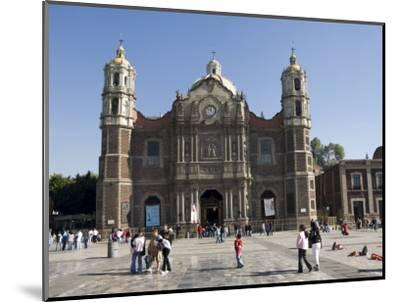 The Antigua Basilica Adjacent to the Basilica De Guadalupe, Mexico City, Mexico, North America-Robert Harding-Mounted Photographic Print