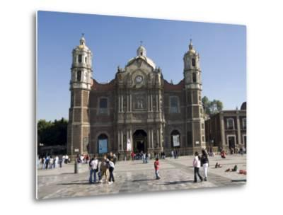 The Antigua Basilica Adjacent to the Basilica De Guadalupe, Mexico City, Mexico, North America-Robert Harding-Metal Print