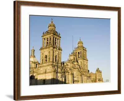 Metropolitan Cathedral, Zocalo, Centro Historico, Mexico City, Mexico, North America-Robert Harding-Framed Photographic Print