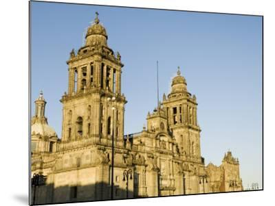 Metropolitan Cathedral, Zocalo, Centro Historico, Mexico City, Mexico, North America-Robert Harding-Mounted Photographic Print