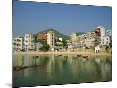 Stanley Town on the Coast, Hong Kong Island, Hong Kong, China-Fraser Hall-Mounted Photographic Print