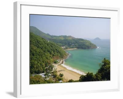 Clearwater Bay, New Territories Coastline, Hong Kong, China-Fraser Hall-Framed Photographic Print