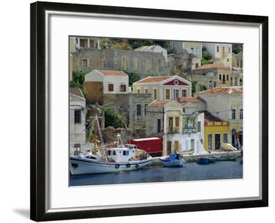 Yialos, Symi, Greece-Fraser Hall-Framed Photographic Print