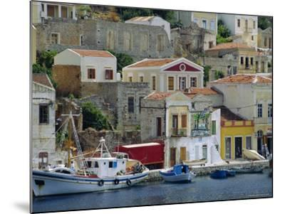 Yialos, Symi, Greece-Fraser Hall-Mounted Photographic Print