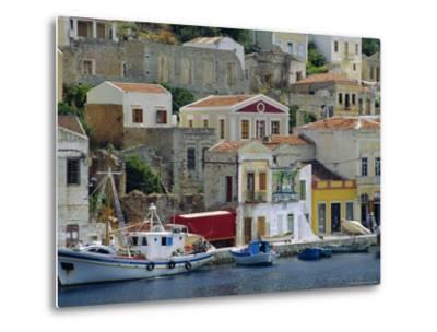 Yialos, Symi, Greece-Fraser Hall-Metal Print