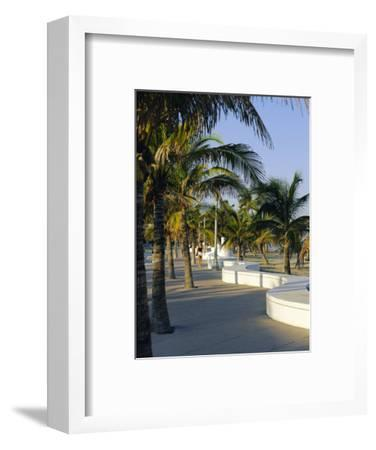 Fort Lauderdale, Wave Wall Promenade, Florida, USA-Fraser Hall-Framed Photographic Print
