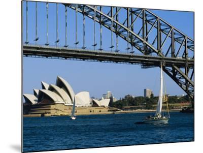 Opera House and Harbour Bridge, Sydney, Australia-Fraser Hall-Mounted Photographic Print