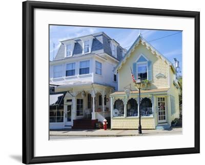 Oak Bluffs, Martha's Vineyard, Cape Cod, Massachusetts, USA-Fraser Hall-Framed Photographic Print