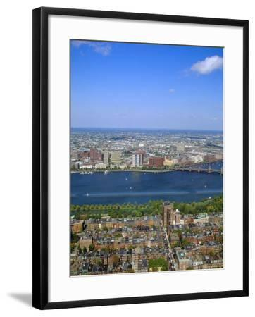Charles River, Back Bay Area, Boston, Massachusetts, USA-Fraser Hall-Framed Photographic Print
