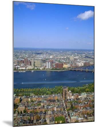 Charles River, Back Bay Area, Boston, Massachusetts, USA-Fraser Hall-Mounted Photographic Print