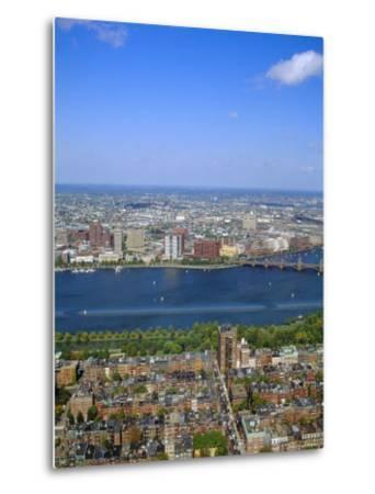 Charles River, Back Bay Area, Boston, Massachusetts, USA-Fraser Hall-Metal Print